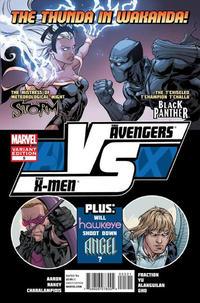 Cover Thumbnail for AVX Vs (Marvel, 2012 series) #5 [Variant cover by Tom Raney]