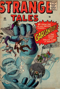 Cover for Strange Tales (Marvel, 1951 series) #80