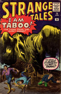 Cover for Strange Tales (Marvel, 1951 series) #75
