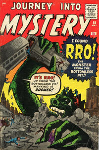 Cover Thumbnail for Journey into Mystery (Marvel, 1952 series) #58 [British]
