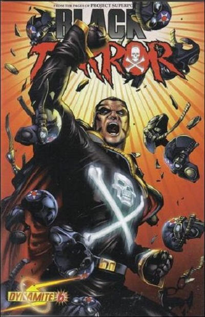 Cover for Black Terror (Dynamite Entertainment, 2008 series) #6 [Alex Ross Cover]
