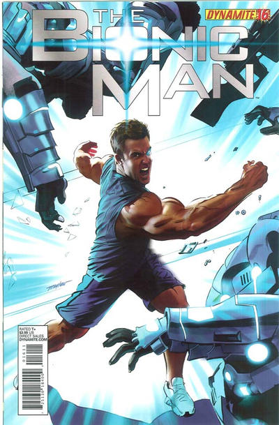 Cover for Bionic Man (Dynamite Entertainment, 2011 series) #16 [Cover A - Mike Mayhew]