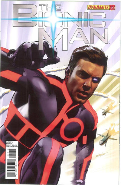 Cover for Bionic Man (Dynamite Entertainment, 2011 series) #17 [Cover A - Mike Mayhew]