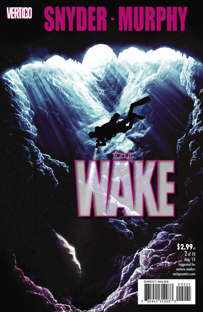 Cover for The Wake (DC, 2013 series) #2