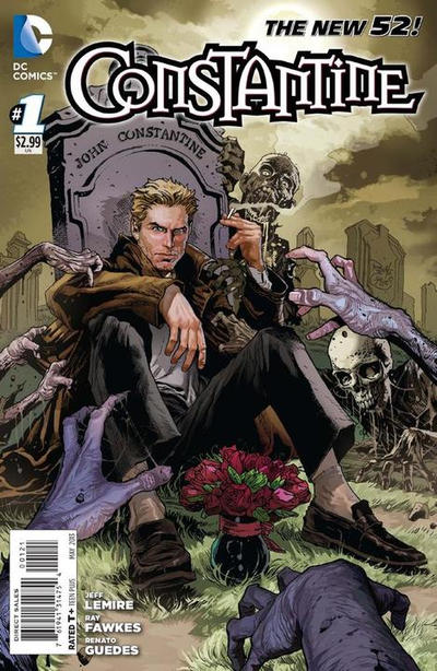 Cover for Constantine (DC, 2013 series) #1
