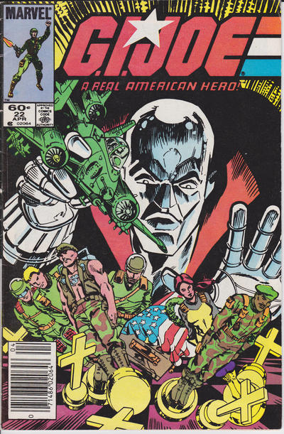 Cover for G.I. Joe, A Real American Hero (Marvel, 1982 series) #22 [Direct Edition]