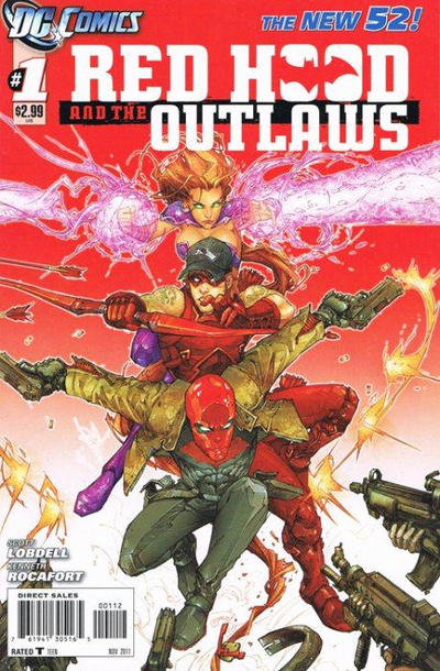 Cover for Red Hood and the Outlaws (DC, 2011 series) #1