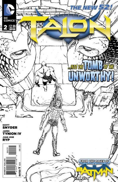 Cover for Talon (DC, 2012 series) #2