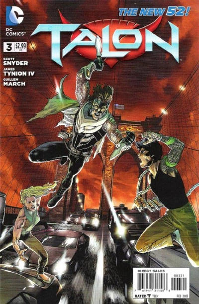 Cover for Talon (DC, 2012 series) #3