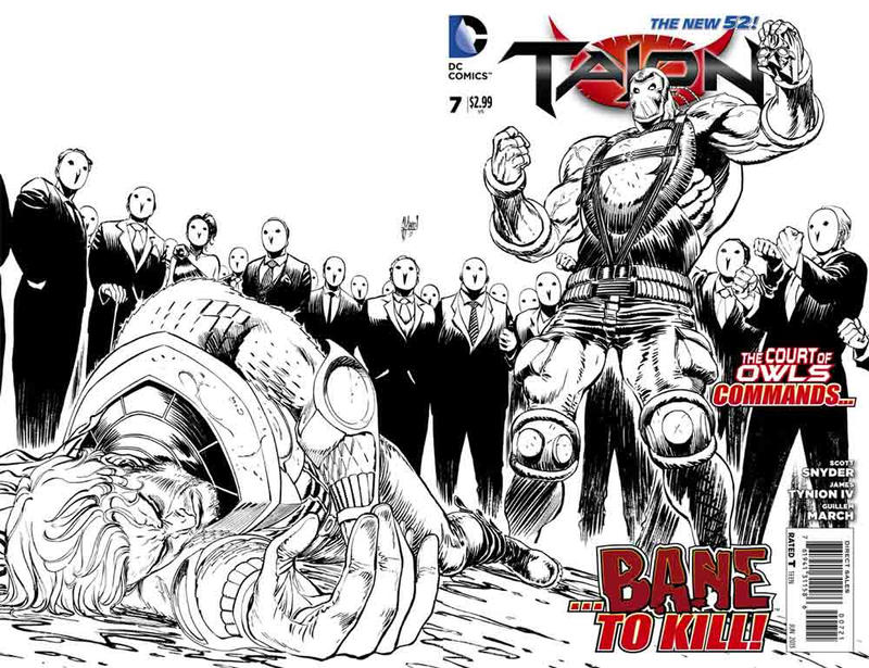 Cover for Talon (DC, 2012 series) #7