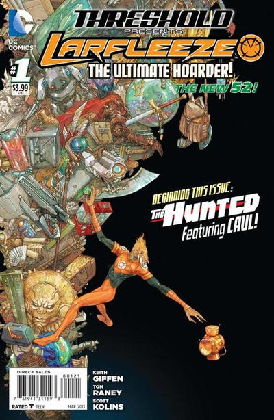 Cover for Threshold (DC, 2013 series) #1