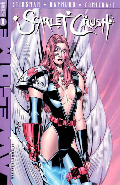 Cover for Scarlet Crush (Awesome, 1998 series) #1