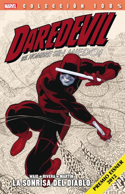 Cover for 100% Marvel. Daredevil: El Hombre Sin Miedo (Panini España, 2012 series) #1 - La Sonrisa del Diablo [Reimpresión]
