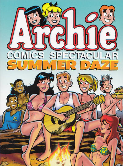 Cover for Archie Comics Spectacular: Summer Daze (Archie, 2014 series)
