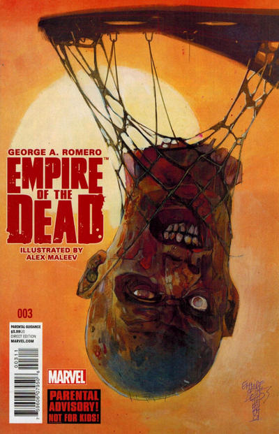 Cover for George Romero's Empire of the Dead (Marvel, 2014 series) #3 [Arthur Suydam NYC Variant]