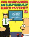 Cover for Dilbert (Andrews McMeel, 1994 ? series) #36 - Your Accomplishments Are Suspiciously Hard to Verify