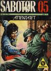 Cover for Sabotør Q5 (Serieforlaget / Se-Bladene / Stabenfeldt, 1971 series) #10/1987