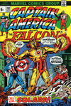 Cover for Captain America (Marvel, 1968 series) #160 [British Price Variant]