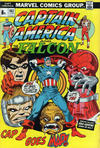 Cover for Captain America (Marvel, 1968 series) #162 [British Price Variant]