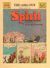 Cover Thumbnail for The Spirit (1940 series) #6/8/1941 [Baltimore Sun edition]