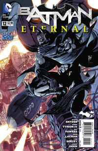 Cover Thumbnail for Batman Eternal (DC, 2014 series) #12