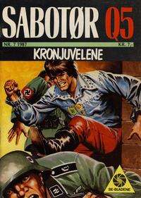 Cover Thumbnail for Sabotør Q5 (Serieforlaget / Se-Bladene / Stabenfeldt, 1971 series) #7/1987