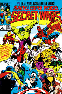 Cover Thumbnail for Secret Wars Omnibus (Marvel, 2008 series)