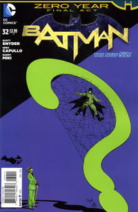 Cover Thumbnail for Batman (DC, 2011 series) #32