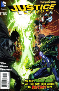 Cover Thumbnail for Justice League (DC, 2011 series) #31 [Direct Sales]