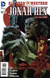 Cover Thumbnail for All Star Western (DC, 2011 series) #32