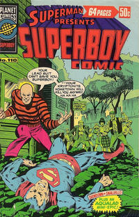 Cover Thumbnail for Superman Presents Superboy Comic (K. G. Murray, 1976 ? series) #110