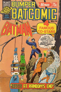 Cover Thumbnail for Bumper Batcomic (K. G. Murray, 1976 series) #9