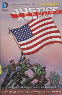 Cover Thumbnail for Justice League of America (DC, 2013 series) #1 - World's Most Dangerous