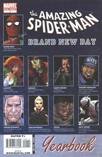 Cover Thumbnail for Spider-Man: Brand New Day Yearbook (Marvel, 2008 series)