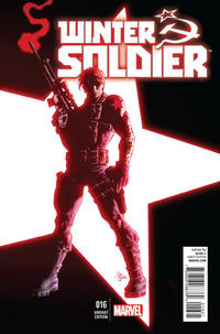 Cover Thumbnail for Winter Soldier (Marvel, 2012 series) #16 [Variant Edition]