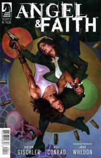 Cover Thumbnail for Angel & Faith Season 10 (Dark Horse, 2014 series) #4 [Scott Fischer Cover]