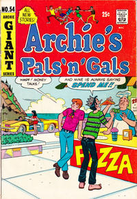 Cover Thumbnail for Archie's Pals 'n' Gals (Archie, 1952 series) #54