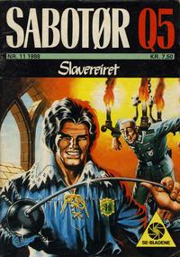 Cover Thumbnail for Sabotør Q5 (Serieforlaget / Se-Bladene / Stabenfeldt, 1971 series) #11/1988