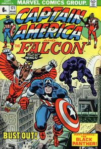 Cover for Captain America (Marvel, 1968 series) #171 [Regular Edition]