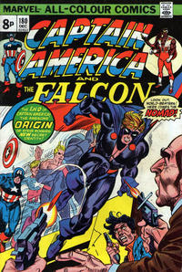 Cover for Captain America (Marvel, 1968 series) #180 [Regular Edition]