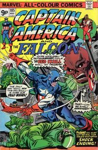 Cover Thumbnail for Captain America (Marvel, 1968 series) #185 [British]