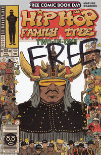 Cover Thumbnail for Hip-Hop Family Tree Two-in-One (Free Comic Book Day 2014) (Fantagraphics, 2014 series)