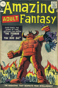 Cover Thumbnail for Amazing Adult Fantasy (Marvel, 1961 series) #9 [British]