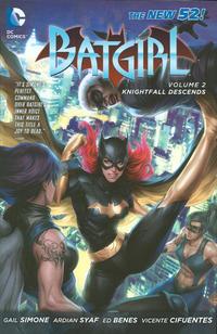 Cover Thumbnail for Batgirl (DC, 2012 series) #2 - Knightfall Descends
