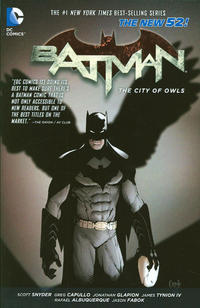 Cover Thumbnail for Batman (DC, 2012 series) #2 - The City of Owls