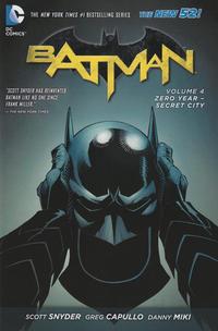 Cover Thumbnail for Batman (DC, 2012 series) #4 - Zero Year - Secret City