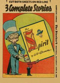 Cover Thumbnail for The Spirit (Register and Tribune Syndicate, 1940 series) #6/29/1941 [Montreal Standard edition]