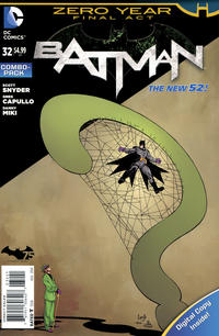 Cover Thumbnail for Batman (DC, 2011 series) #32 [Combo-Pack]