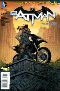 Cover Thumbnail for Batman (DC, 2011 series) #32 [Tony Moore Cover]