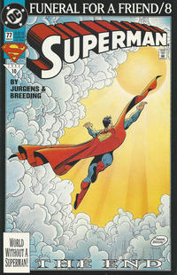 Cover Thumbnail for Superman (DC, 1987 series) #77 [Direct]